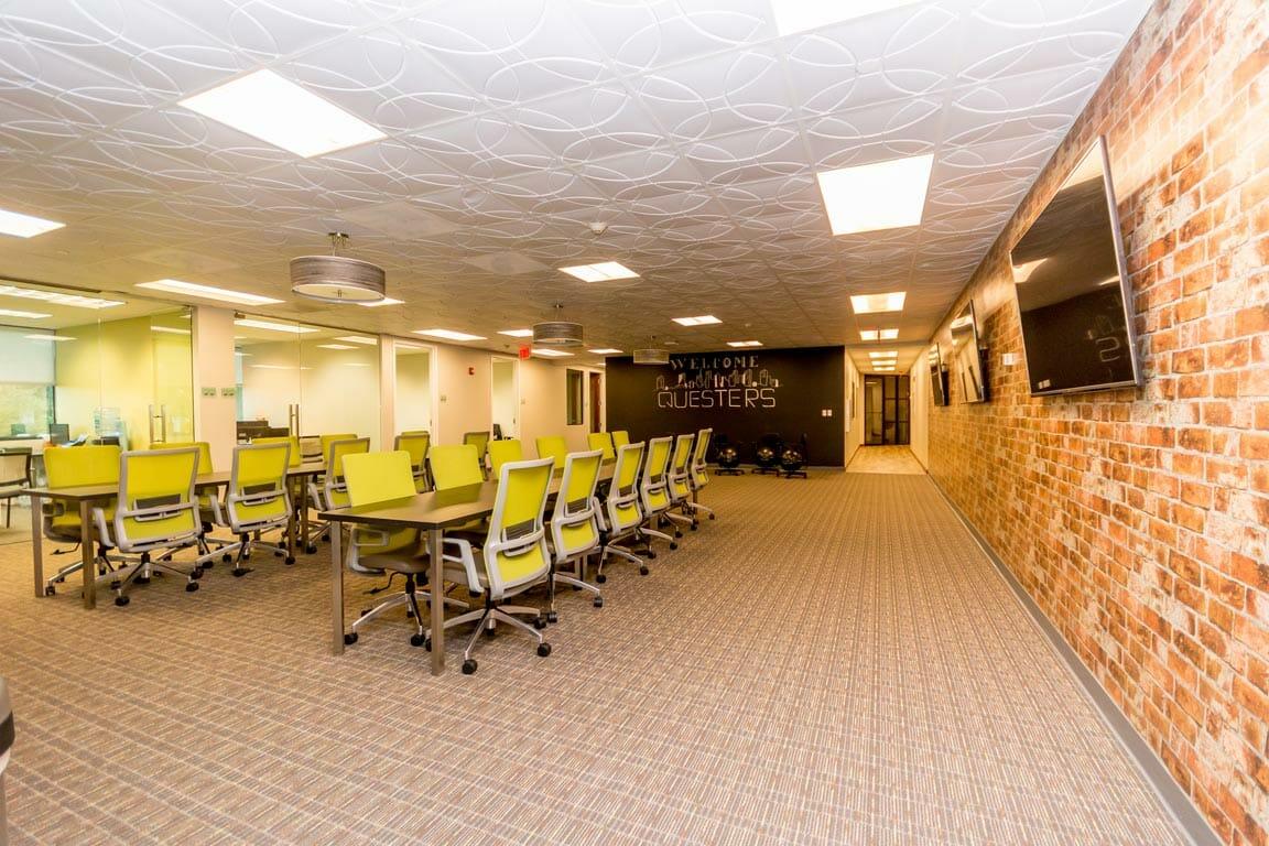 Plantation Virtual Office Address - Lounge Commons Area