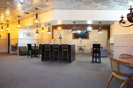 Rolesville Busines Address - Lounge Area
