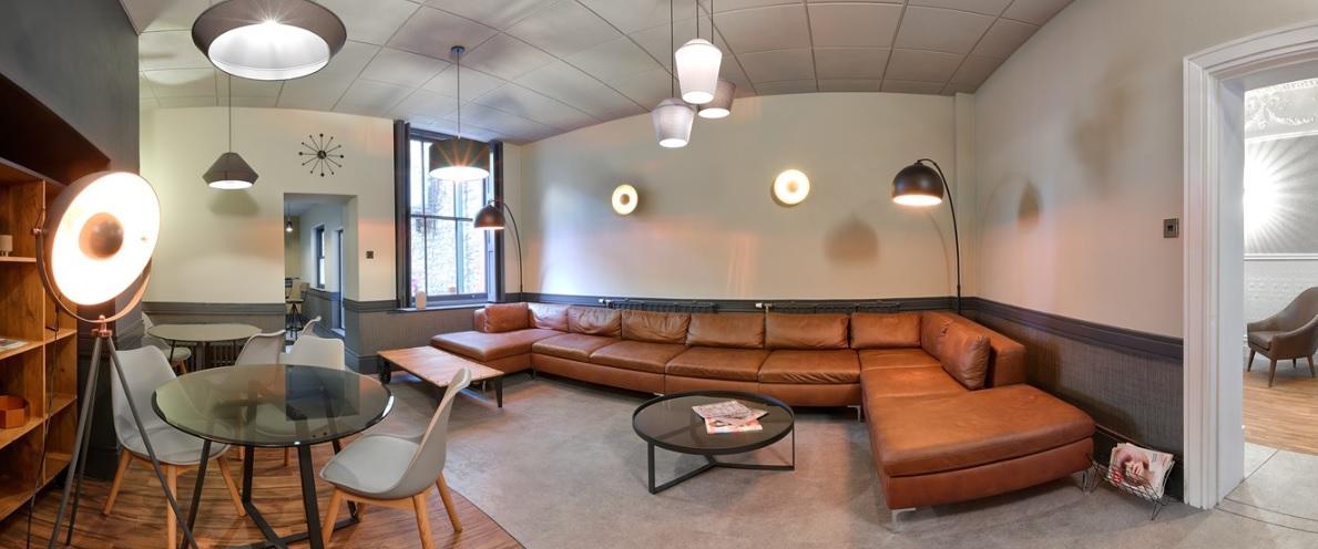 Cardiff Busines Address - Lounge Area