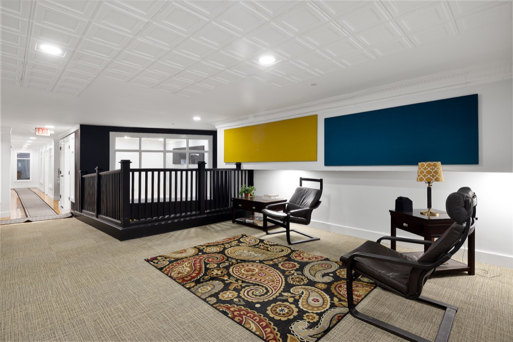 Edinburg Busines Address - Lounge Area