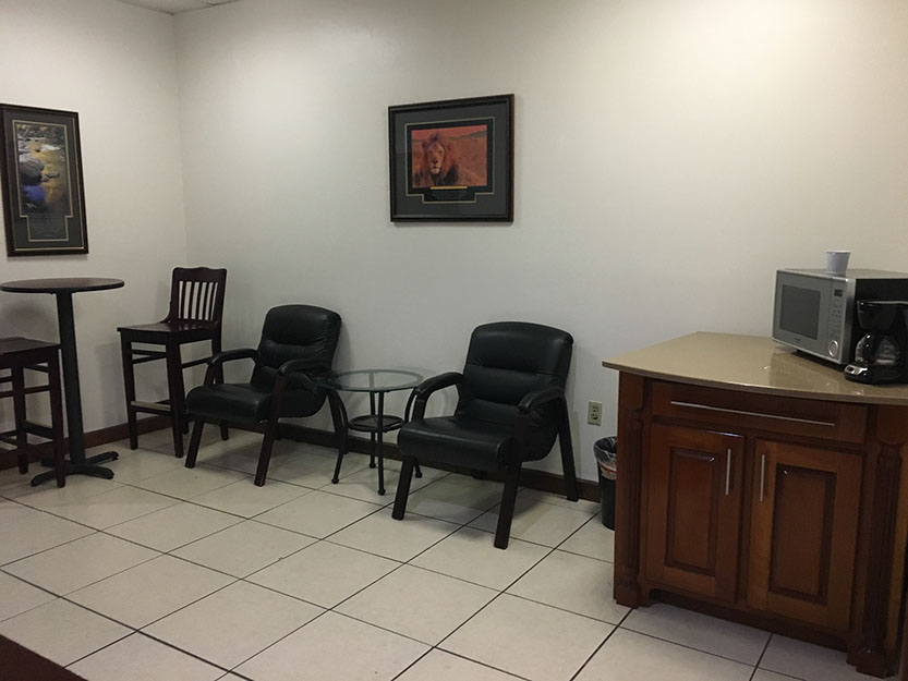 Clearwater Busines Address - Lounge Area