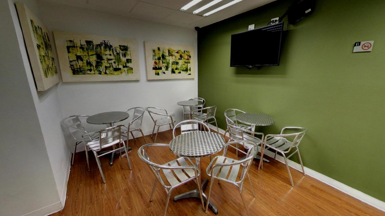 Monterrey Virtual Office Space - Comfortable Commons Area