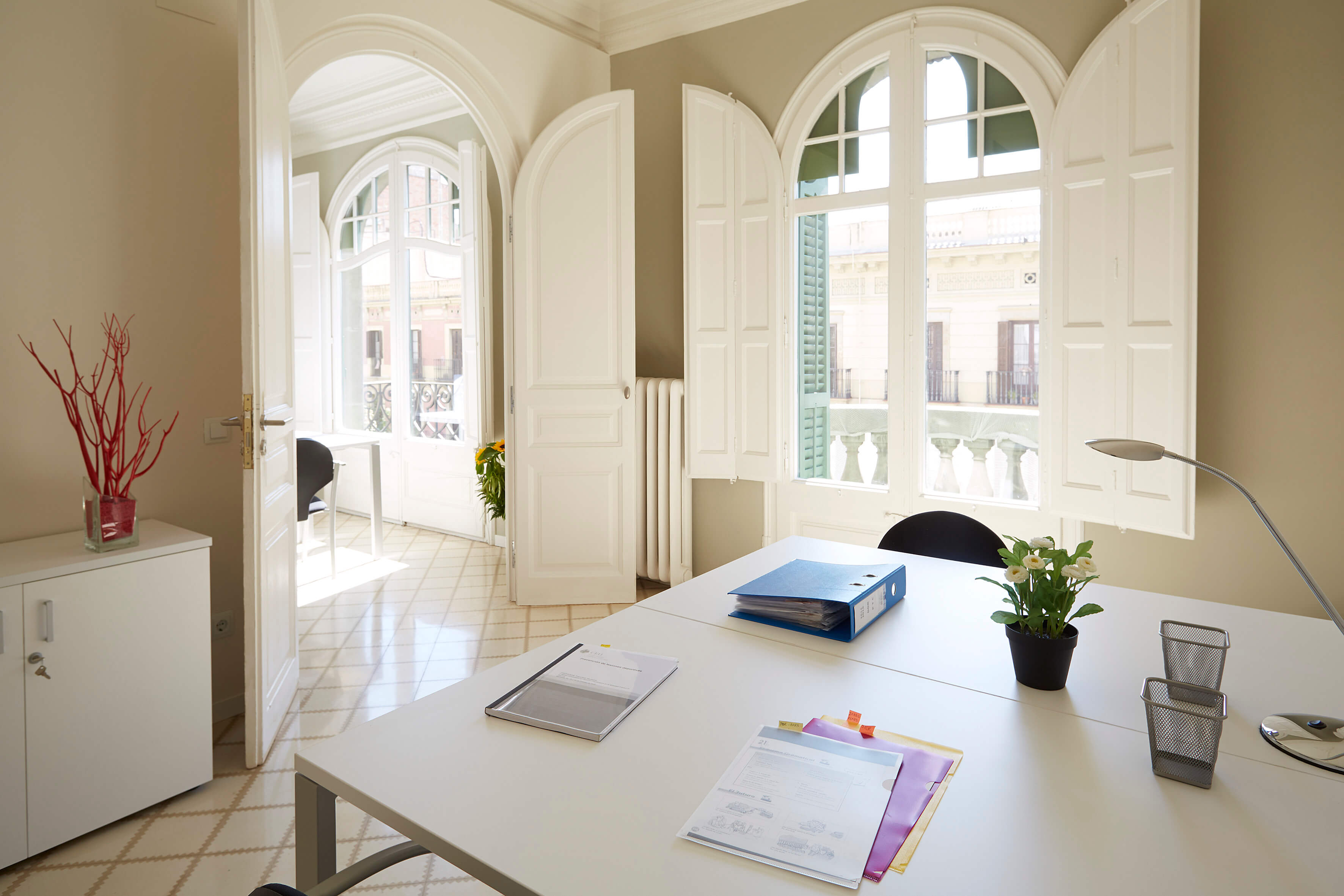 Barcelona Virtual Office Space - Comfortable Commons Area