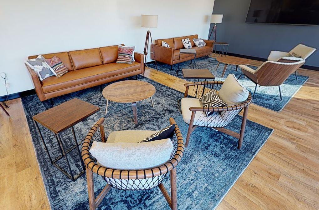 Durham Busines Address - Lounge Area
