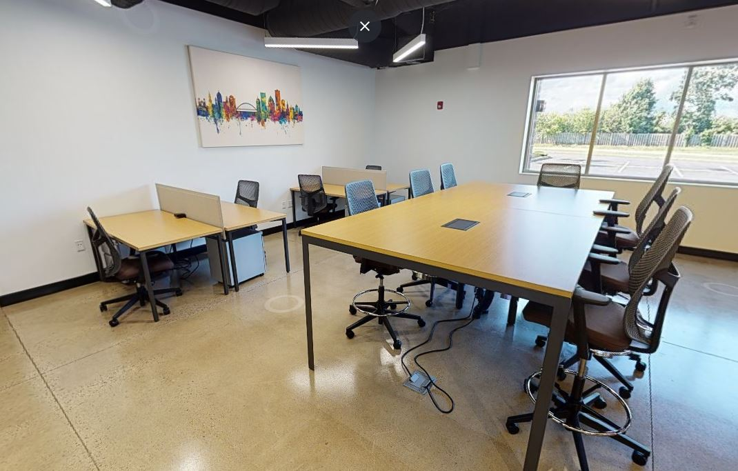 Rochester Virtual Office Space - Comfortable Commons Area
