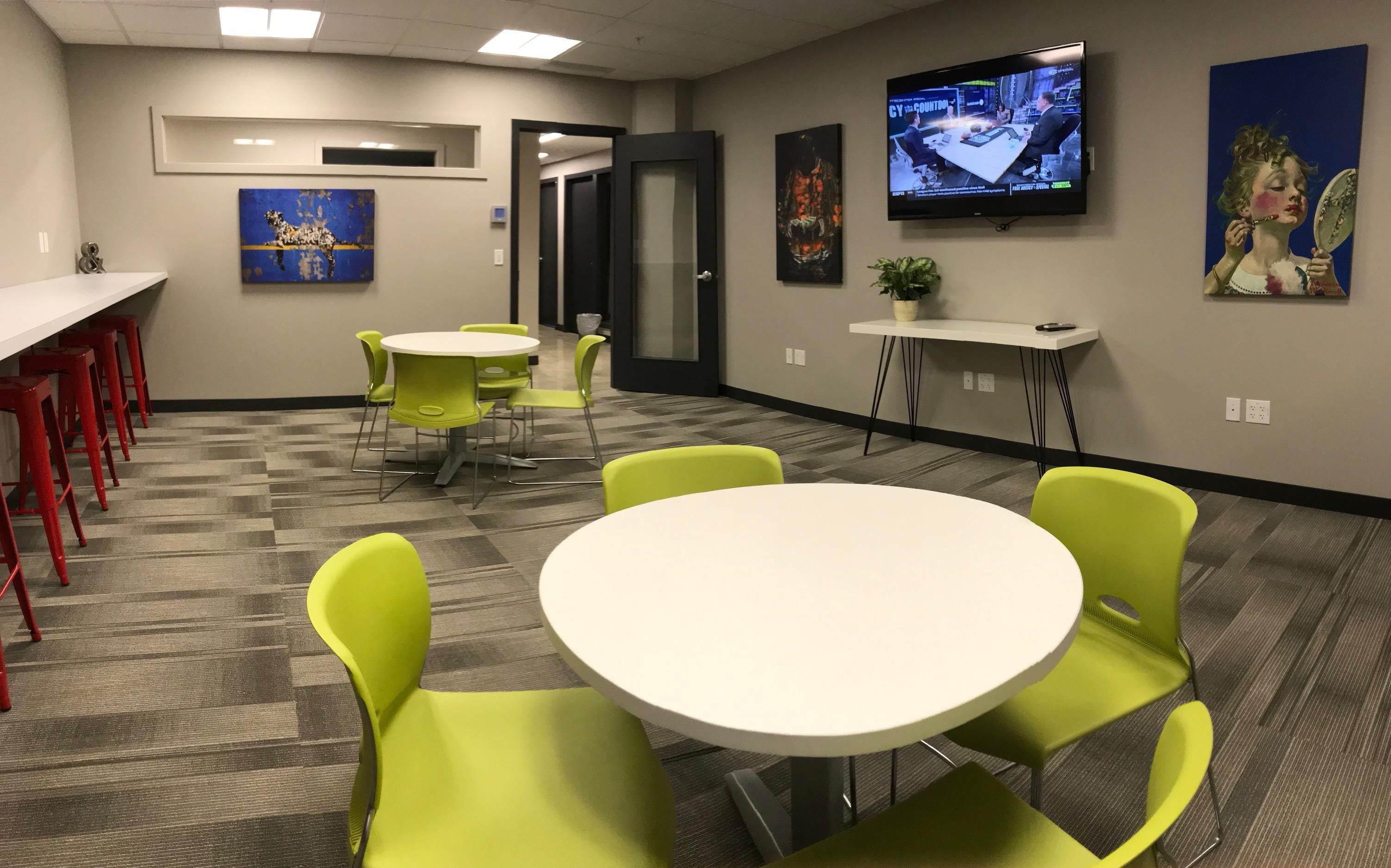 Spokane Virtual Office Address - Lounge Commons Area