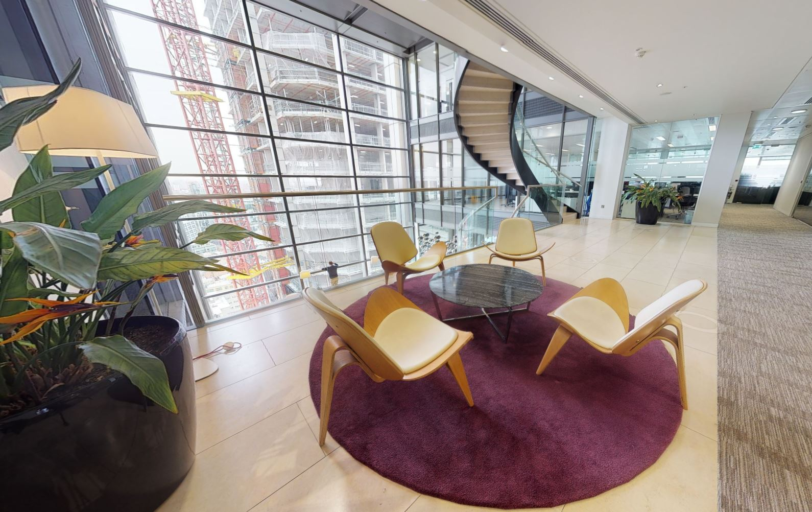 London City Busines Address - Lounge Area