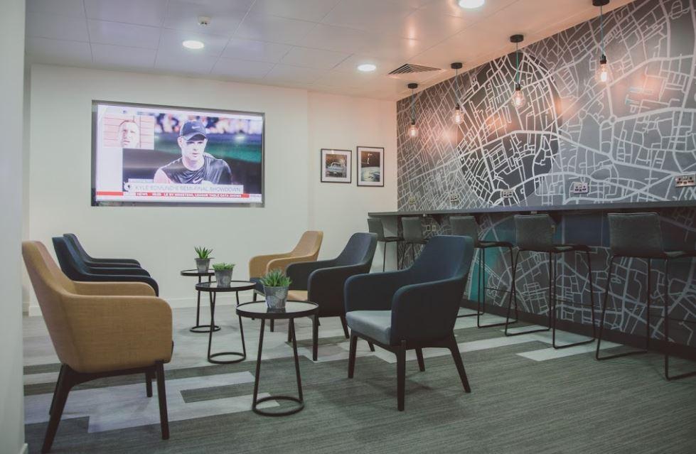 London Holborn Busines Address - Lounge Area