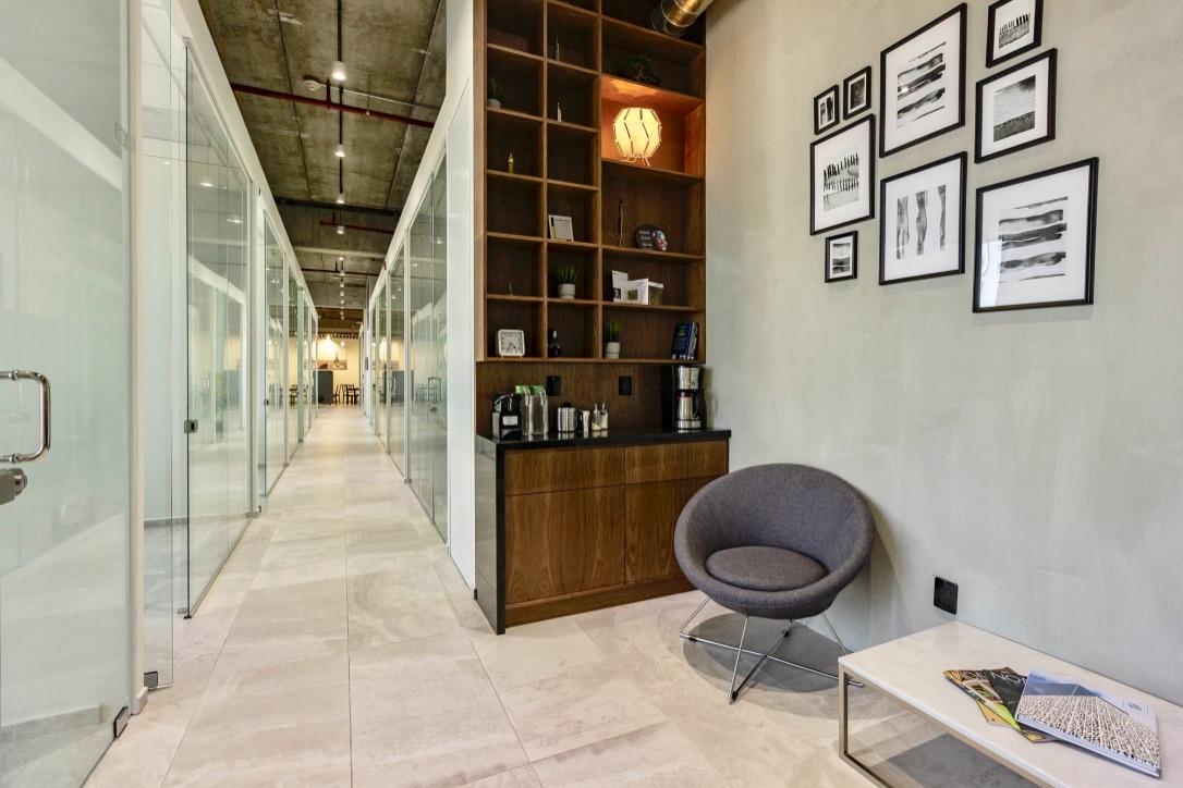 Guadalajara Virtual Office Space - Comfortable Commons Area