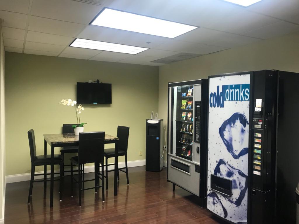 Deerfield Beach Busines Address - Lounge Area