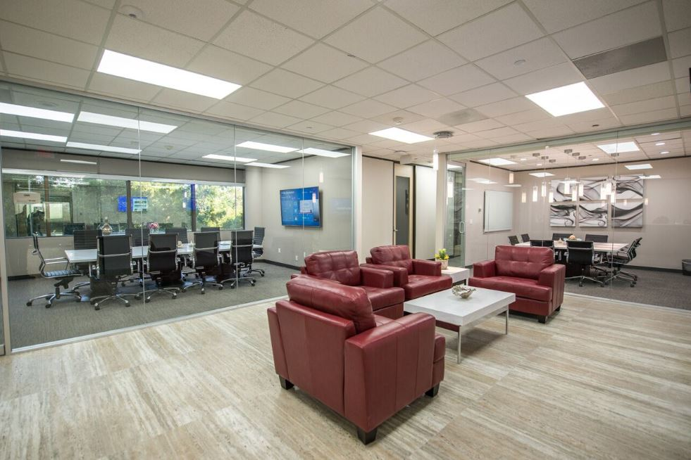 Houston Virtual Office Address - Lounge Commons Area