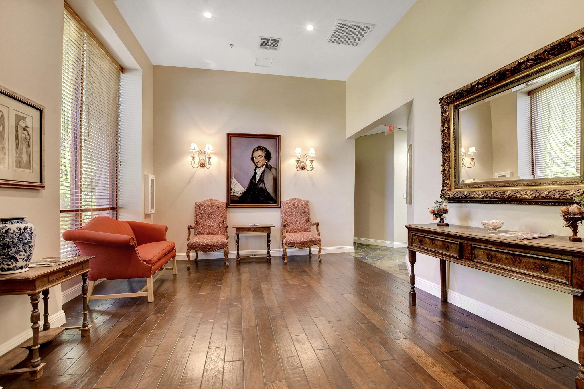 Las Vegas Busines Address - Lounge Area