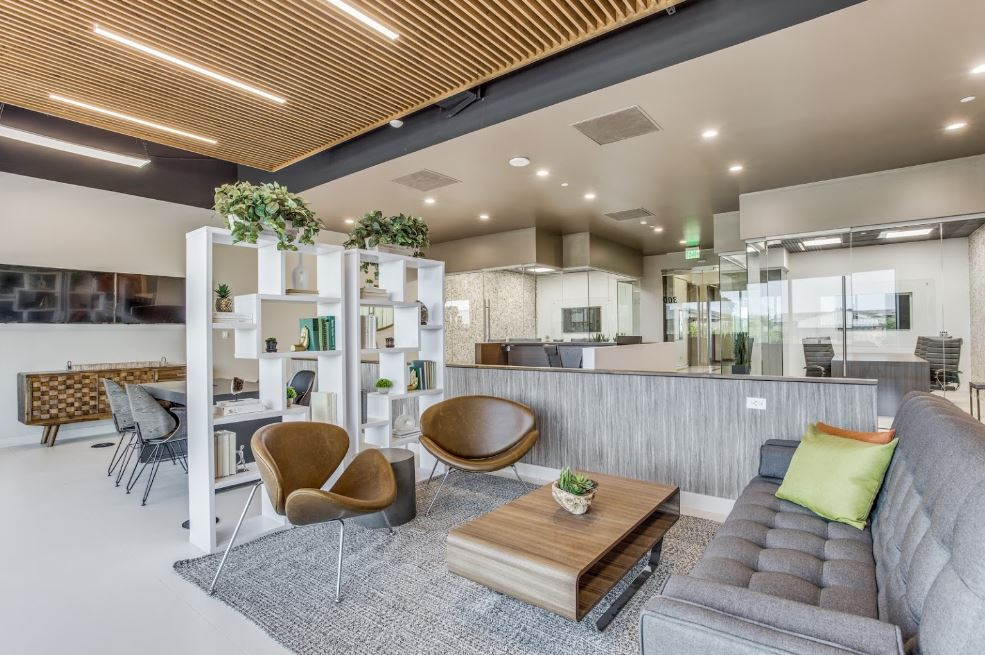 Plano Virtual Office Address - Lounge Commons Area