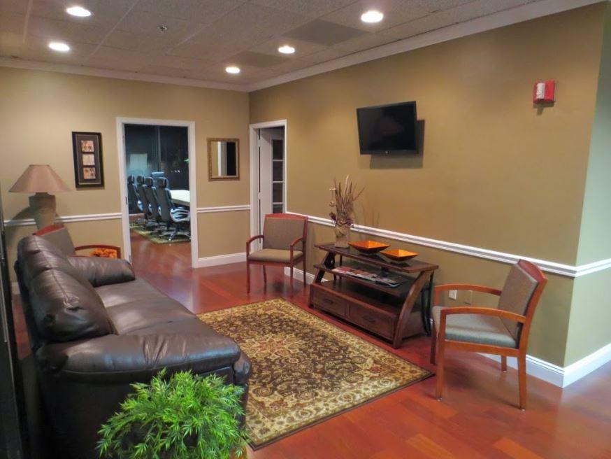 Boca Raton Busines Address - Lounge Area