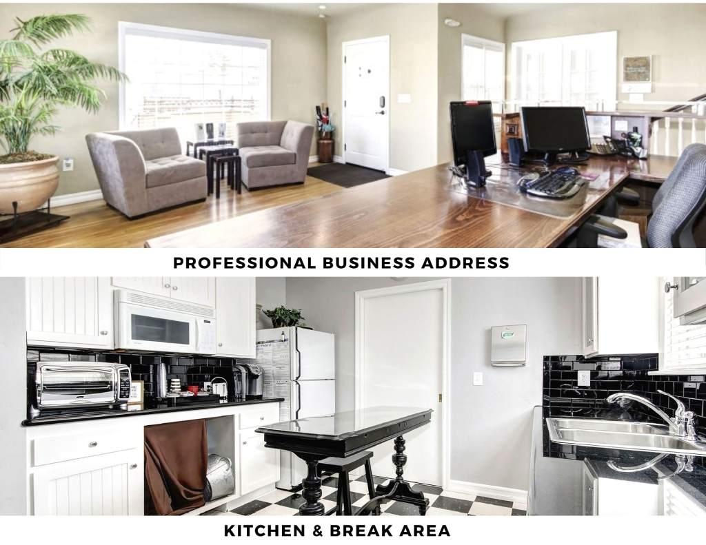 Sacramento Virtual Office Space - Comfortable Commons Area
