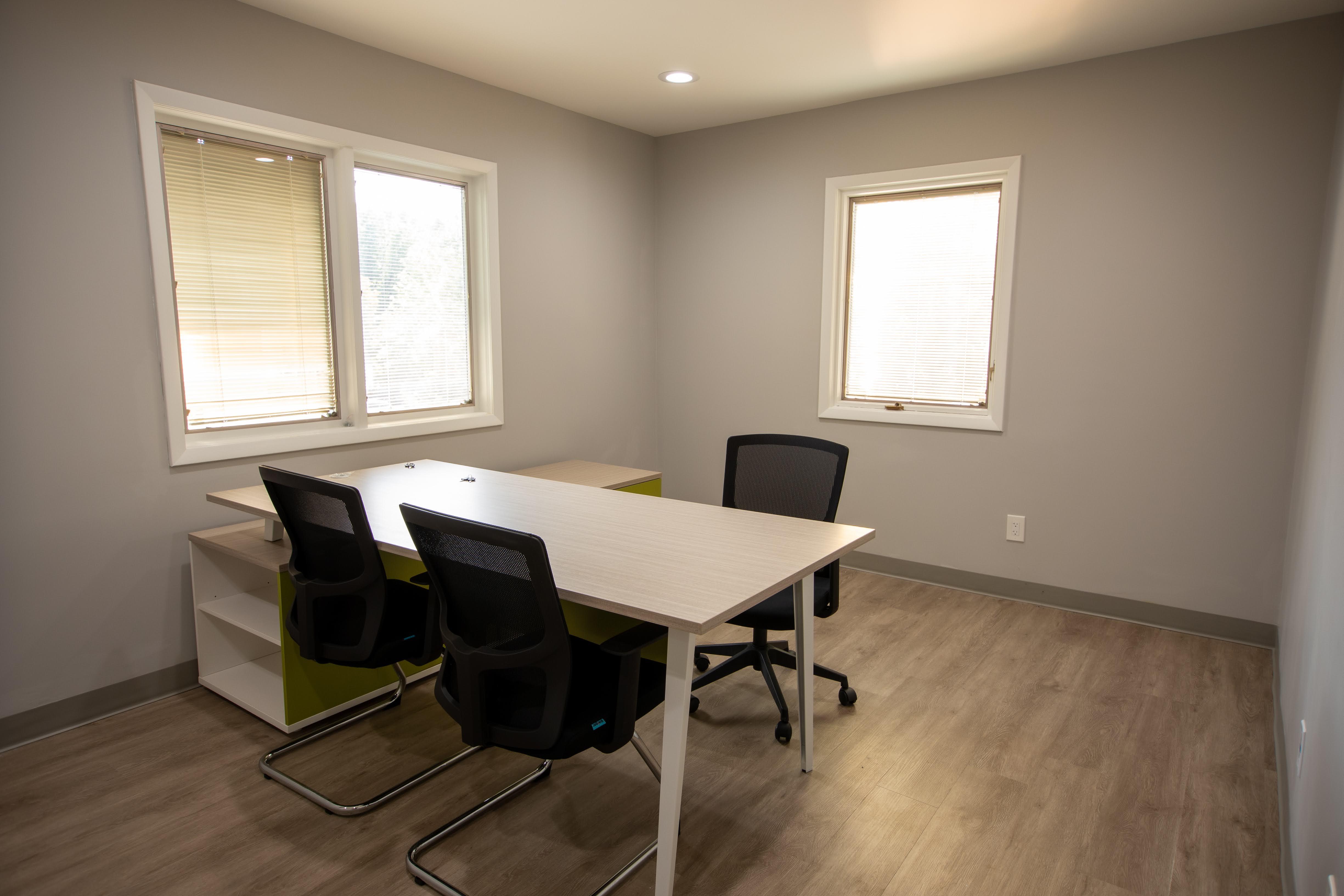 Temporary Springfield Office - Meeting Room