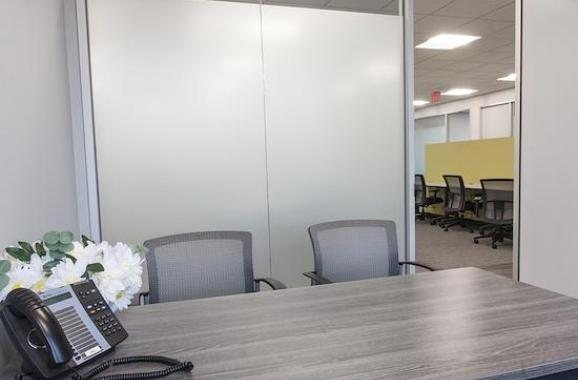 Temporary Alexandria Office - Meeting Room