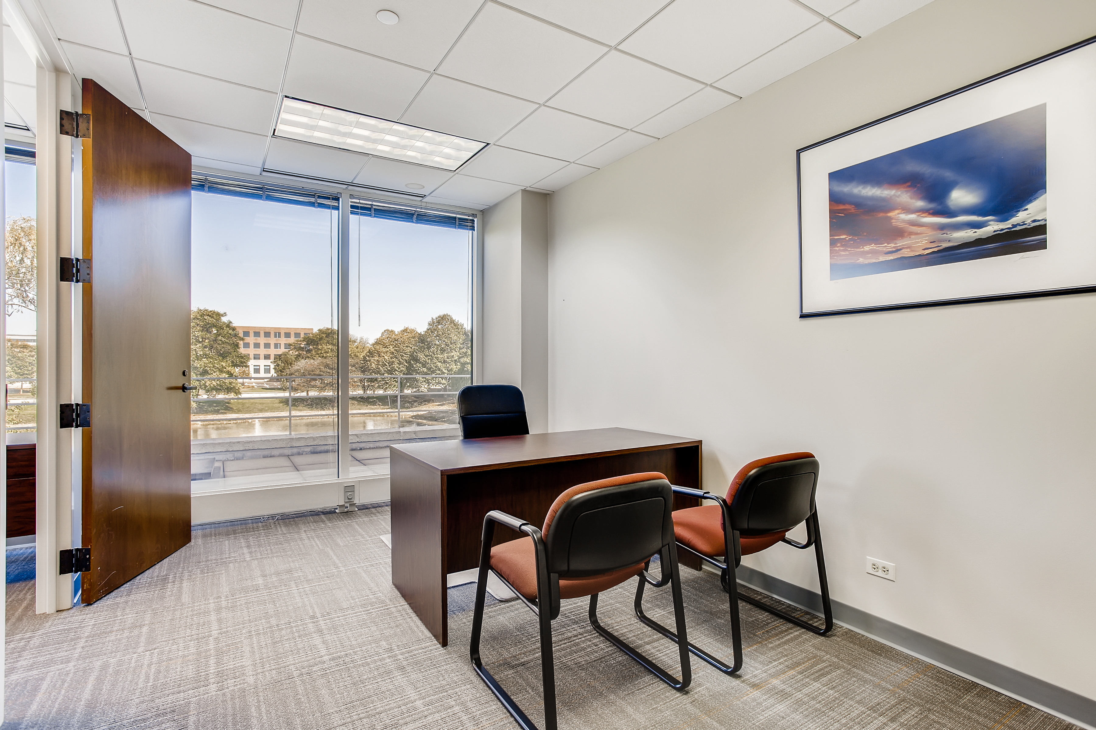 Temporary Naperville Office - Meeting Room