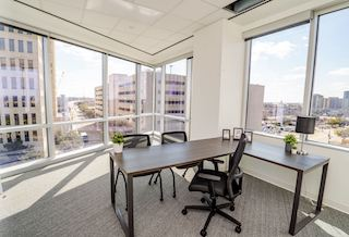 Temporary Fort Worth Office - Meeting Room