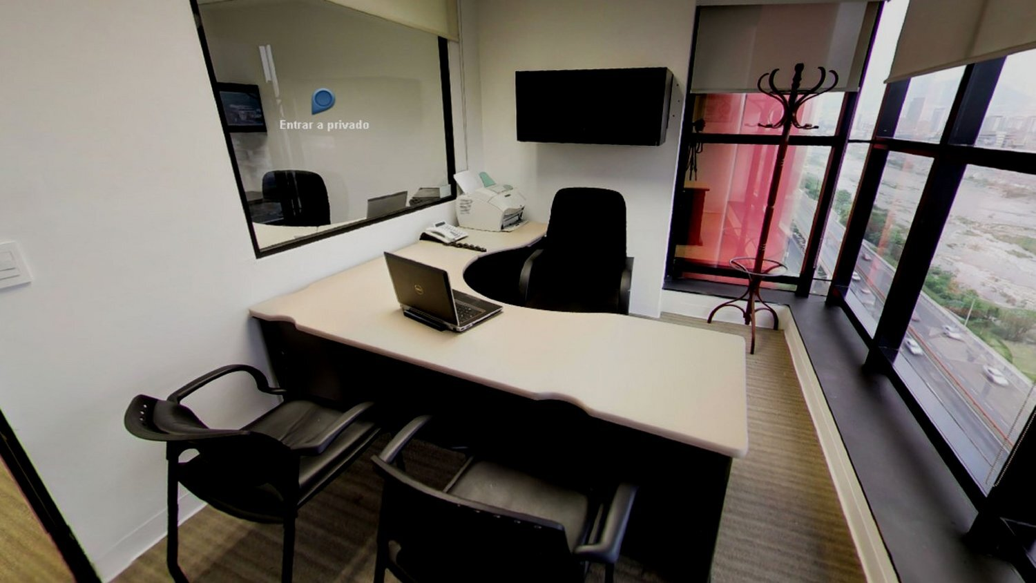Temporary Monterrey Office - Meeting Room
