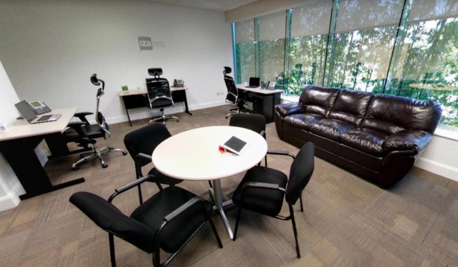 Temporary Monterrey Office - Meeting Room
