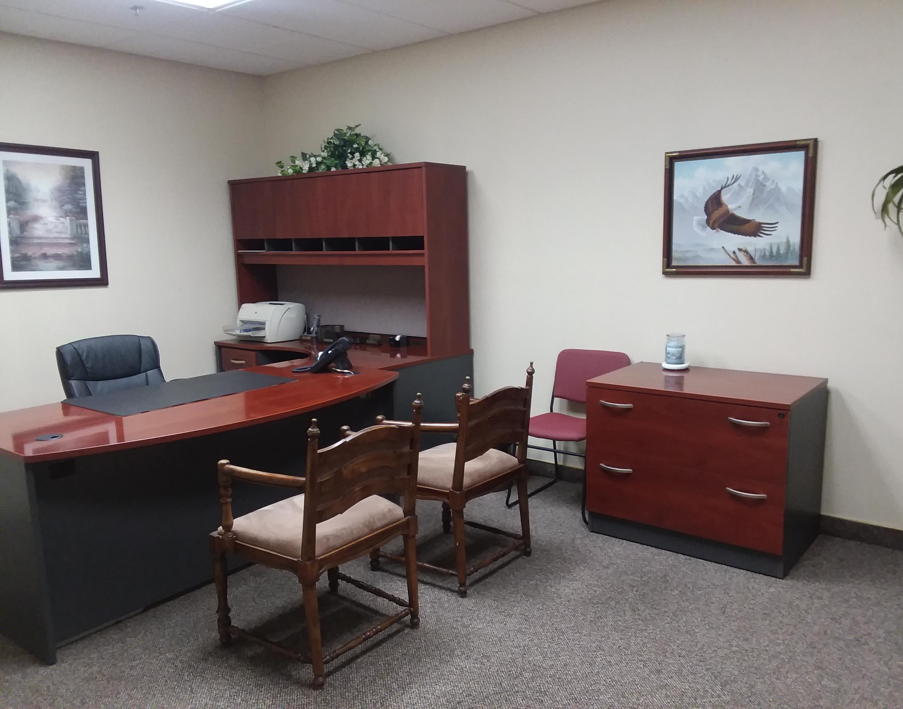 Temporary Riverside Office - Meeting Room