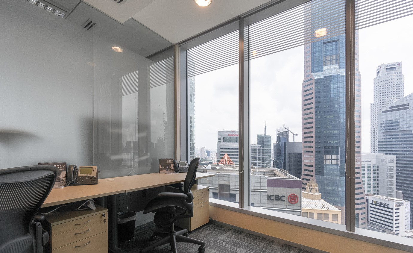 Singapore Temporary Private Office or Meeting Room