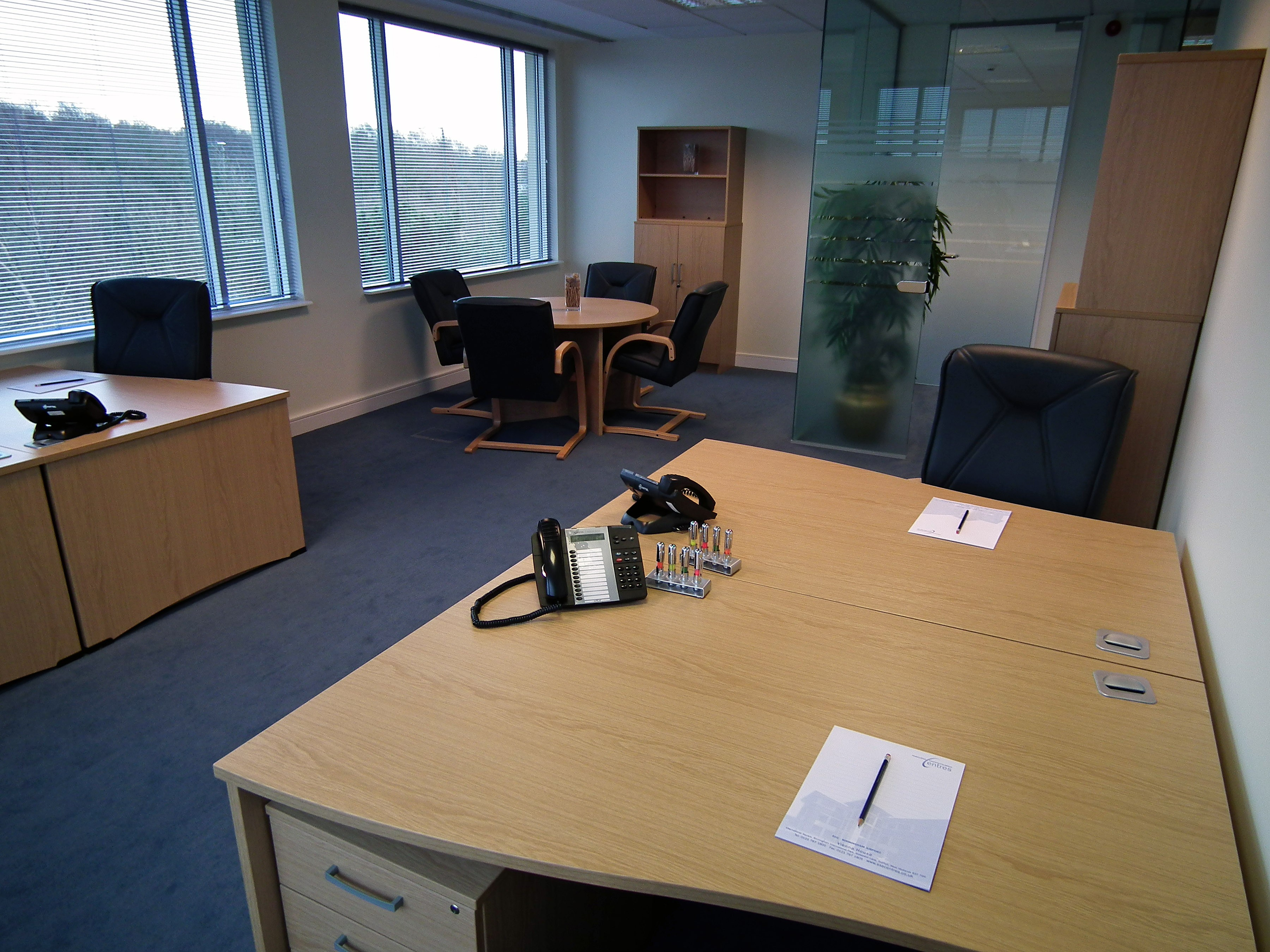 Temporary Solihull Office - Meeting Room