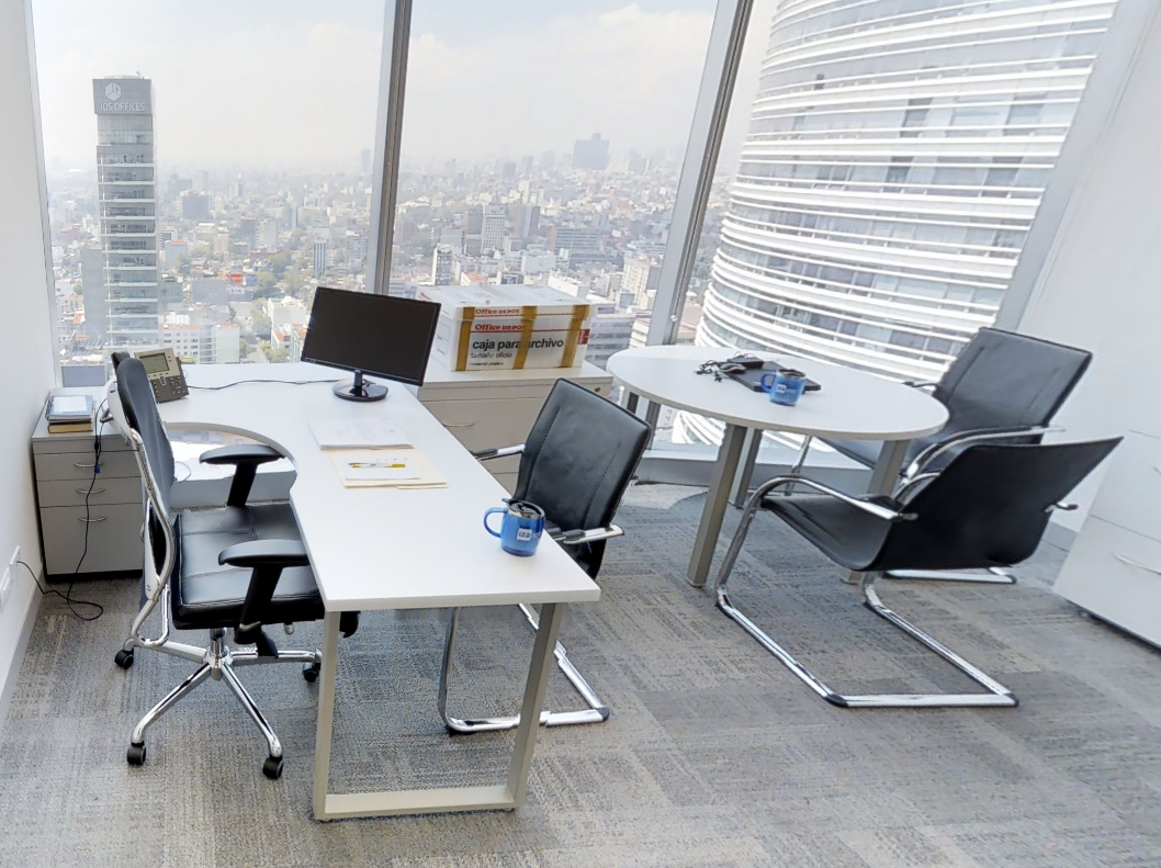 Temporary Mexico City Office - Meeting Room