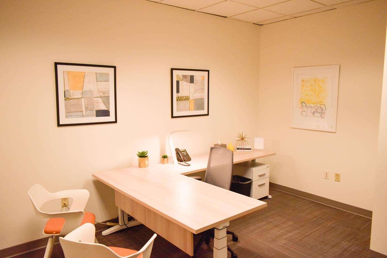Temporary Louisville Office - Meeting Room