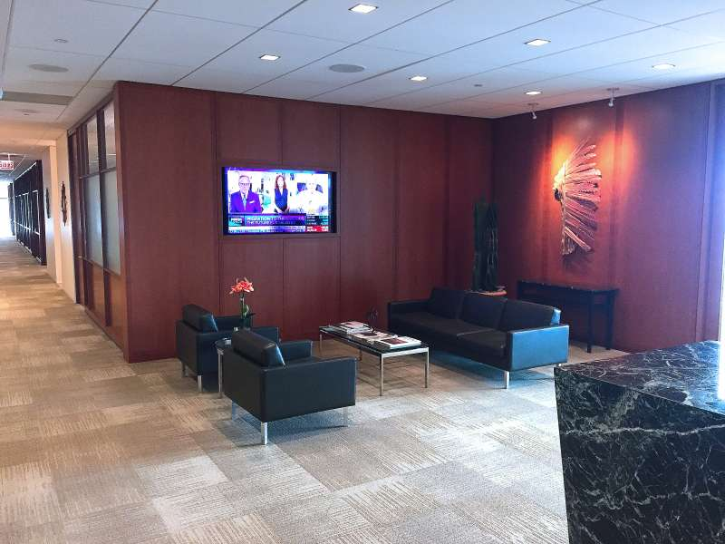 Receptionist Lobby - Virtual Offices in Naperville