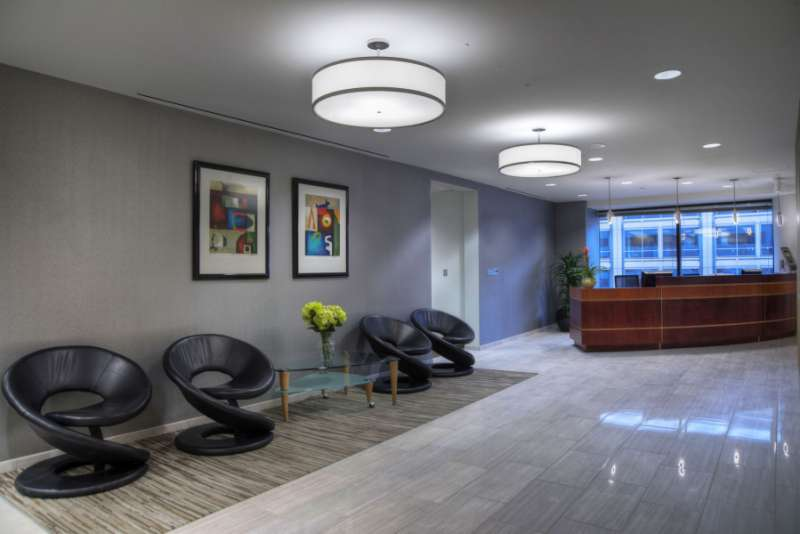 Receptionist Lobby - Virtual Offices in Chevy Chase