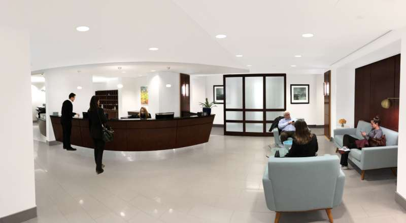Receptionist Lobby - Virtual Offices in Washington