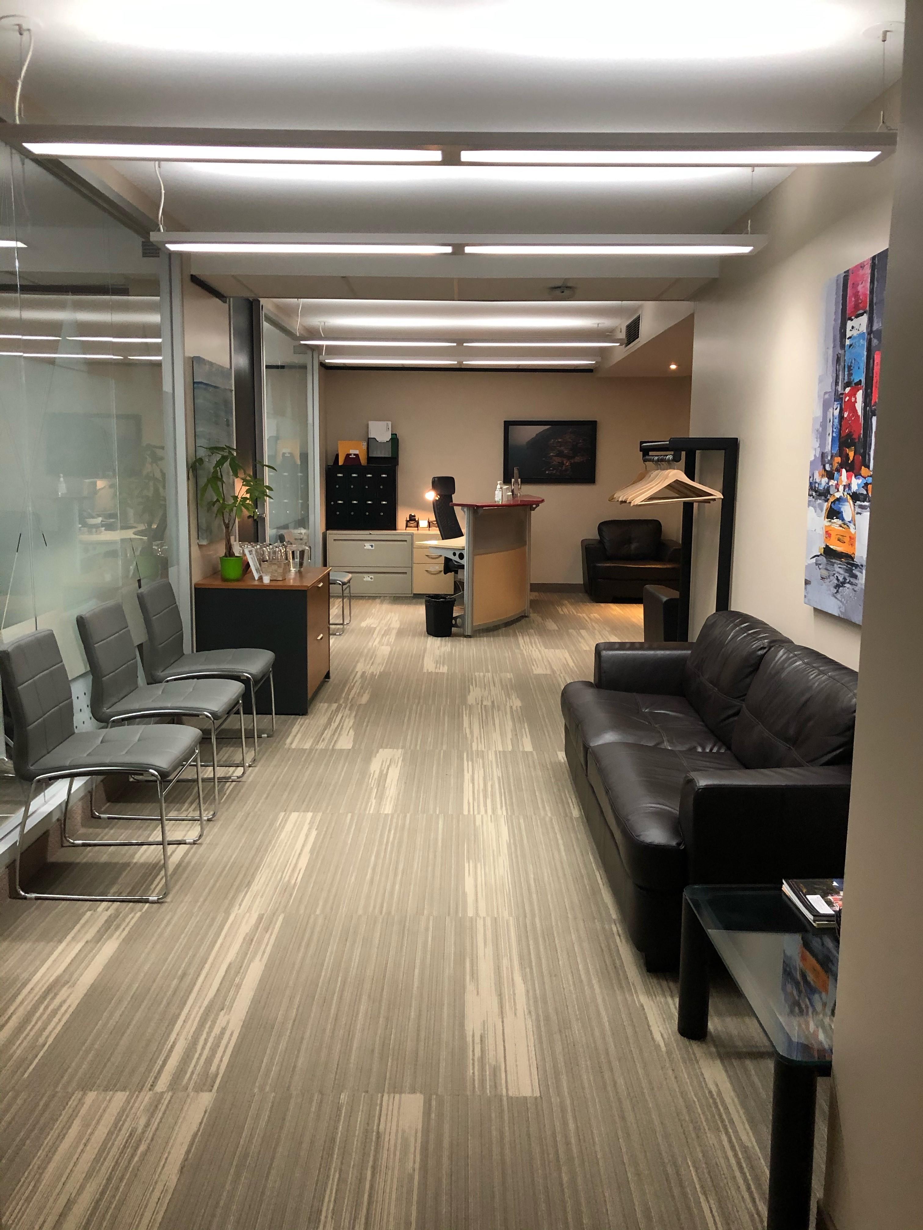 Receptionist Lobby - Virtual Offices in Ottawa