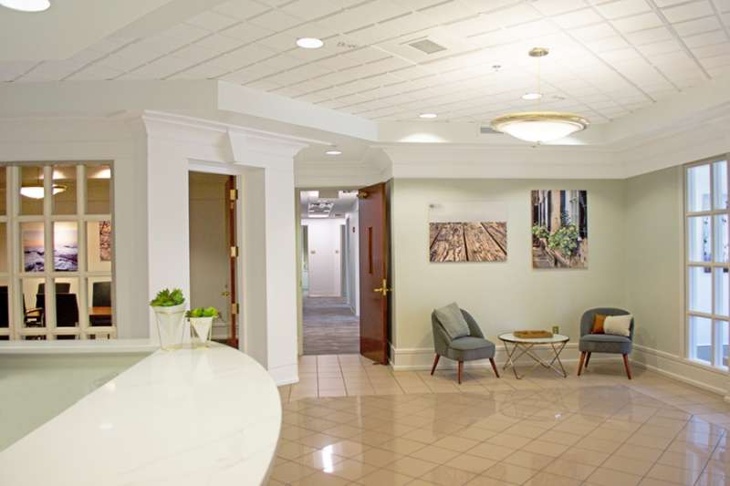Receptionist Lobby - Virtual Offices in Charlotte