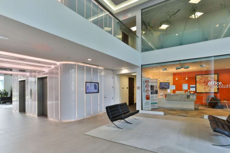 Receptionist and Mail Area - Tysons Corner Virtual Office