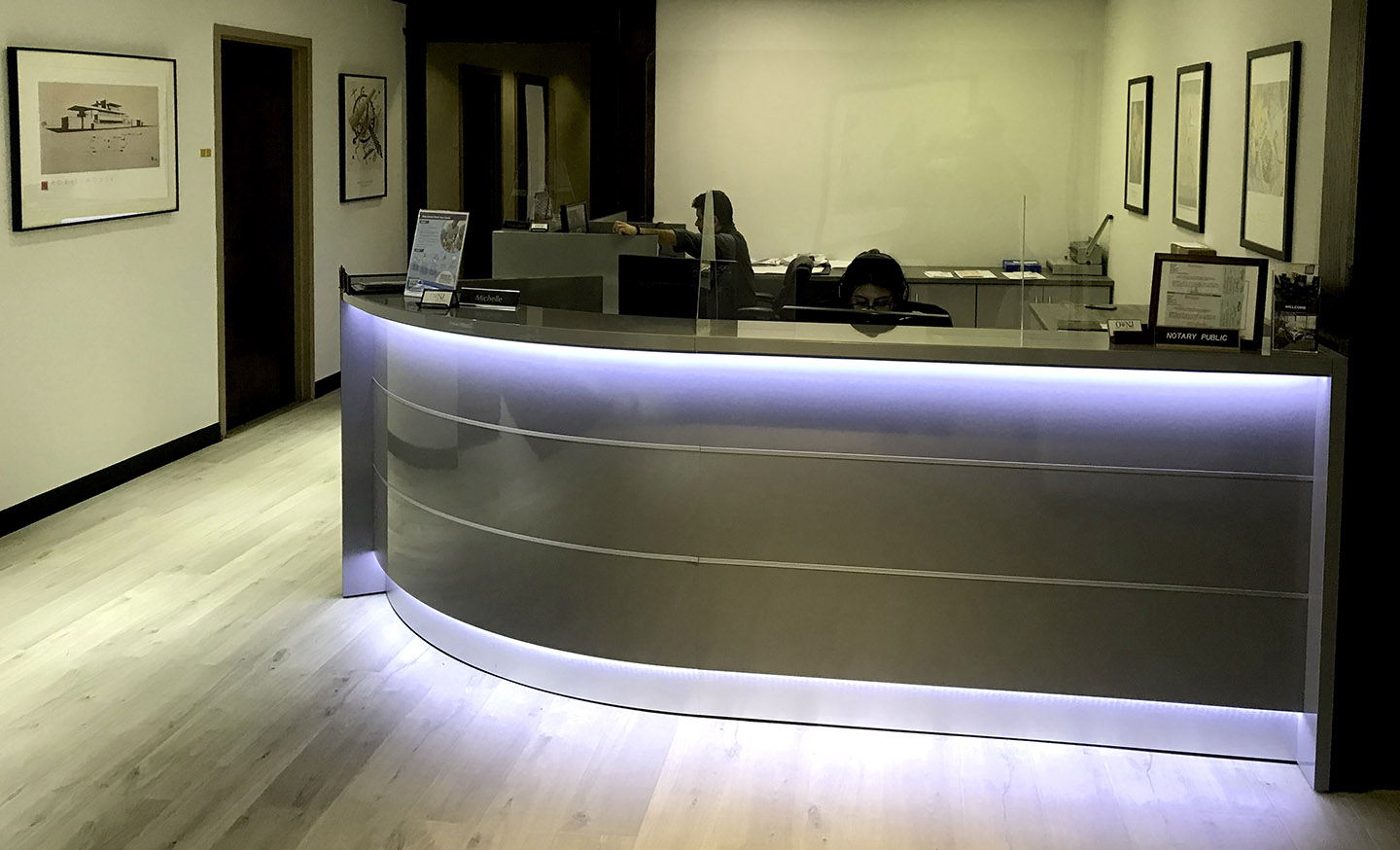 Receptionist Lobby - Virtual Offices in Bridgewater