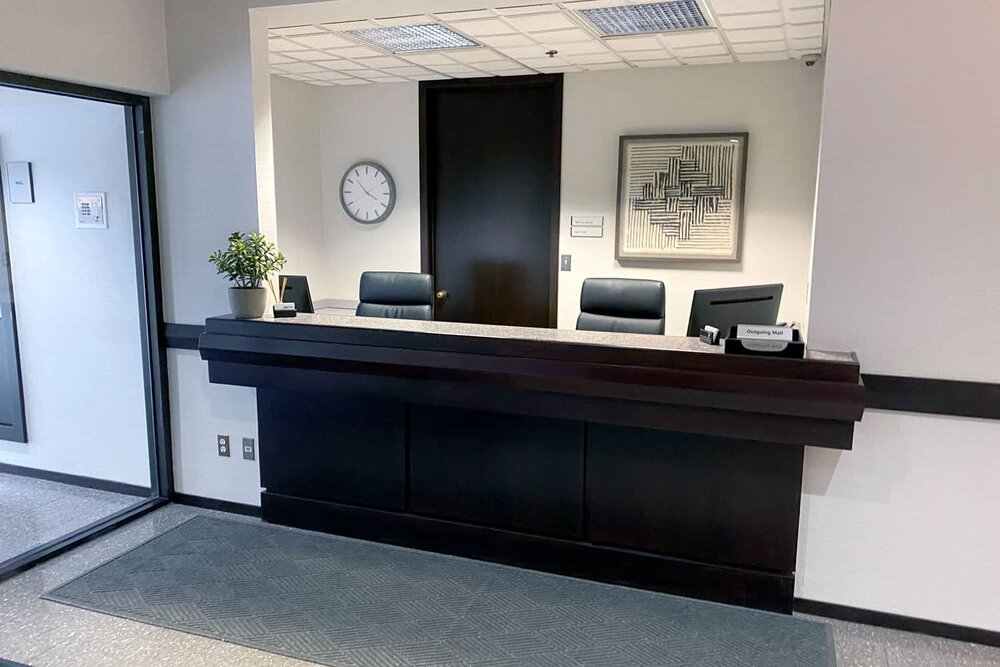 Receptionist and Mail Area - Troy Virtual Office