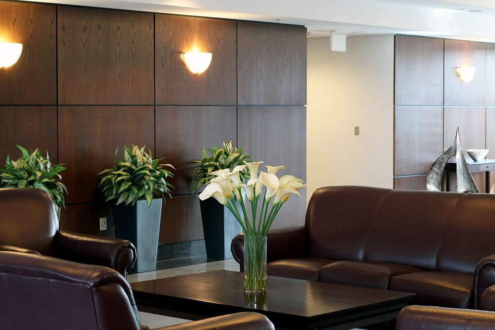Receptionist Lobby - Virtual Offices in Warrenville