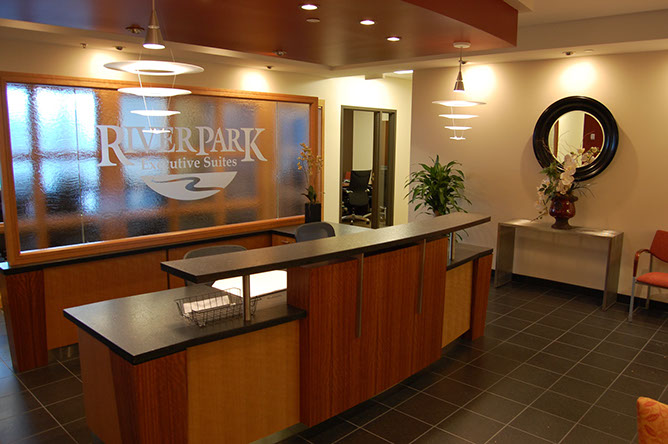 South Jordan Live Receptionist and Business Address Lobby