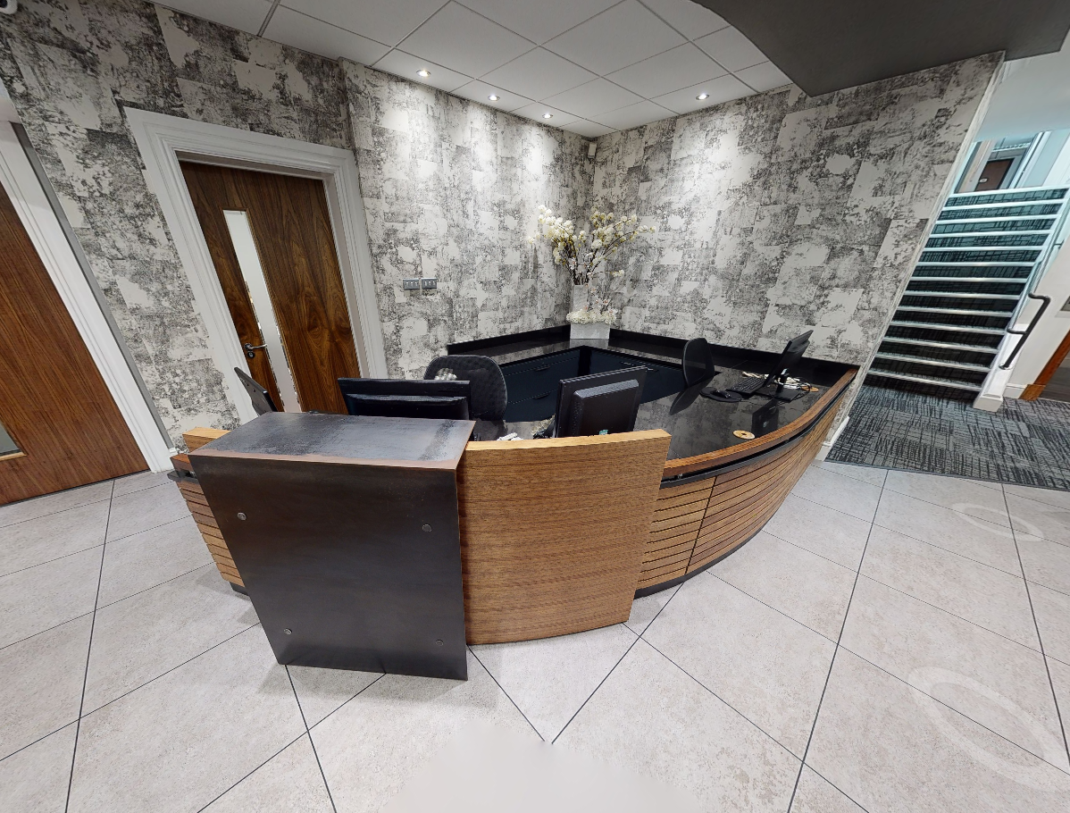 Receptionist Lobby - Virtual Offices in Cardiff