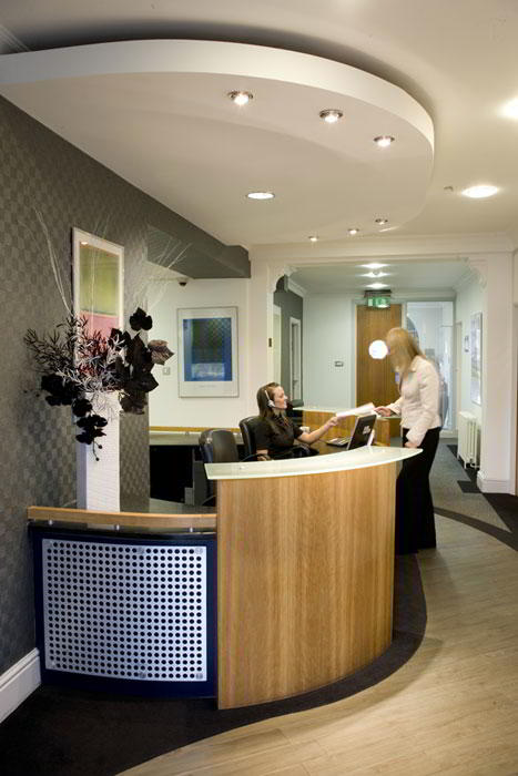 Receptionist and Mail Area - Bristol Virtual Office