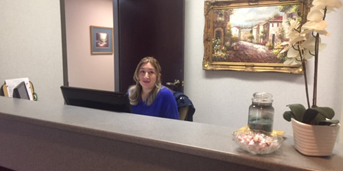 Receptionist Lobby - Virtual Offices in Peachtree Corners