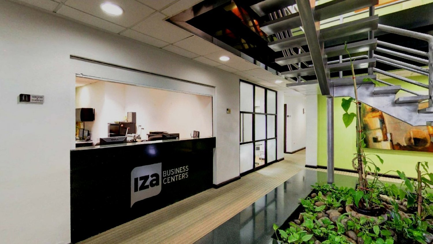 Receptionist Lobby - Virtual Offices in Monterrey