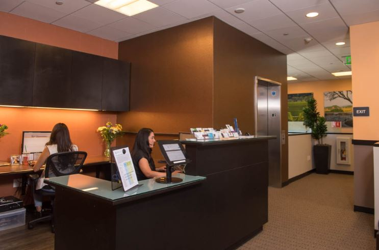 Receptionist and Mail Area - Walnut Creek Virtual Office