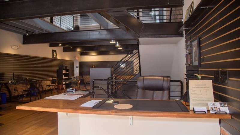Receptionist Lobby - Virtual Offices in Phoenixville