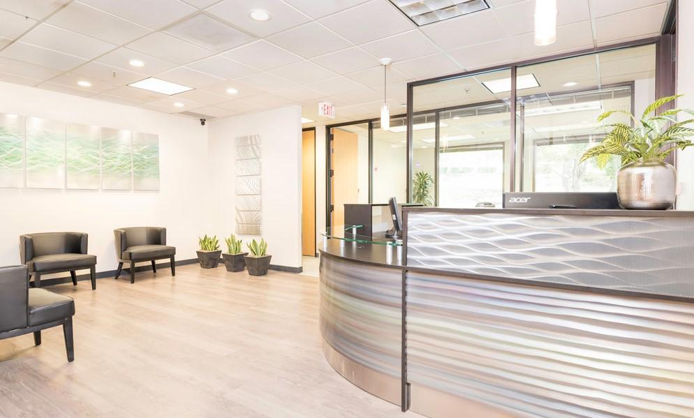Receptionist Lobby - Virtual Offices in San Ramon