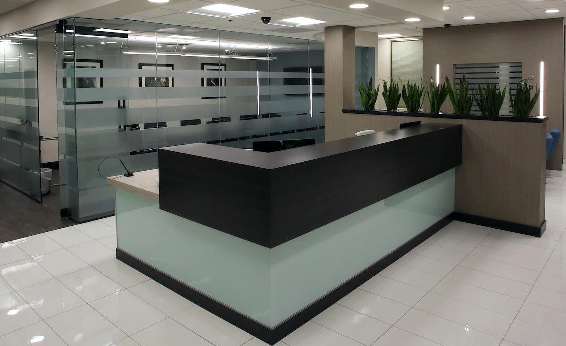 Receptionist and Mail Area - Beverly Hills Virtual Office