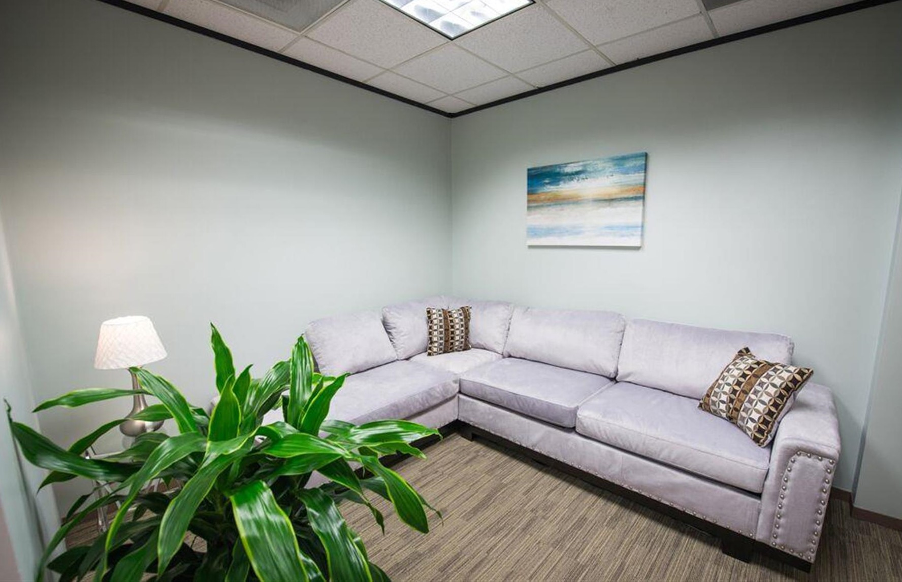 Houston Live Receptionist and Business Address Lobby