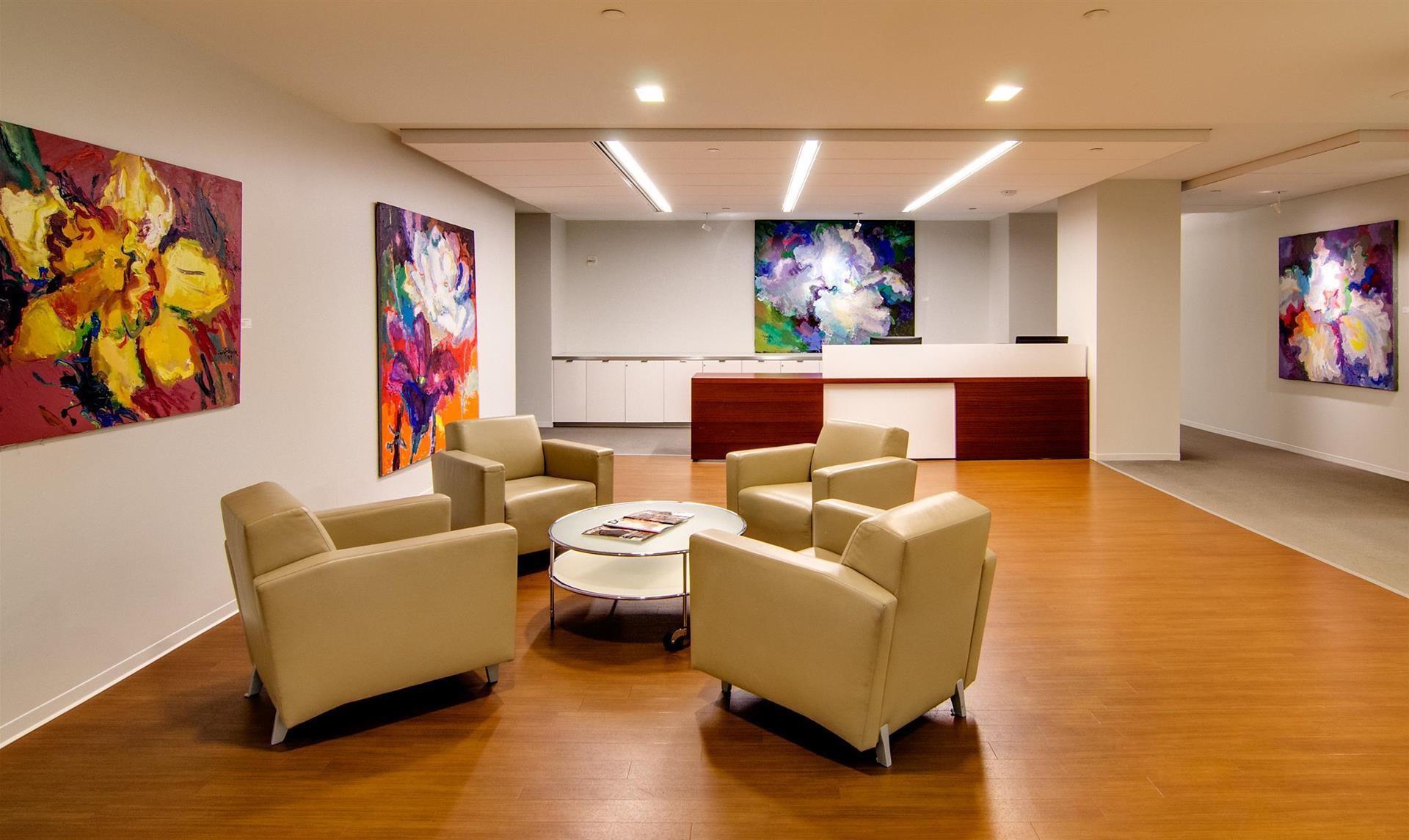 Receptionist Lobby - Virtual Offices in Washington